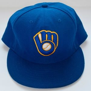 Milwaukee Brewers New Era 59Fifty MLB Fitted Cap